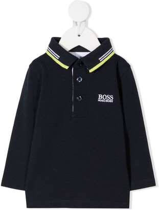 Boss Kidswear Logo Detail Polo Shirt