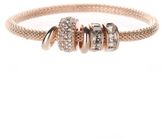 George Rose Gold-Tone Charm Bracelet