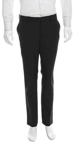 Alexander McQueen Wool Flat Front Pants w/ Tags
