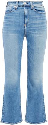 Rag & Bone Faded High-rise Kick-flare Jeans