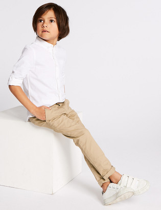 Marks and Spencer Cotton Chinos with Stretch (3 Months - 7 Years)