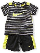 Nike Baby Boys 12-24 Months Predator Print Short-Sleeve Tee & Shorts Set