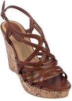 SheSole Womens PU Leather Gladiator Strappy High Heel Platform Enroll Wedge Sandals