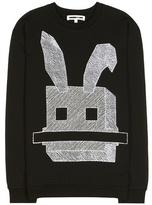 McQ by Alexander McQueen Embroidered Cotton Sweatshirt