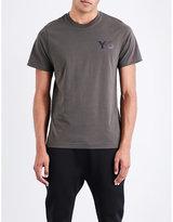 Y3 Logo-print Cotton-jersey T-shirt