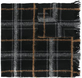 Dondup checked scarf