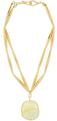 Tohum Theia Resort 24kt Gold-plated Necklace - Gold