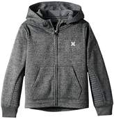 Hurley One and Only Therma Fit Zip Hoodie (Little Kids)