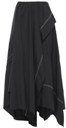 3.1 Phillip Lim Asymmetric Cotton-poplin Midi Skirt