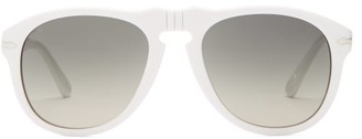 A.P.C. Aviator Acetate Sunglasses - Womens - White