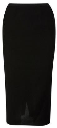Rick Owens Wool-blend skirt
