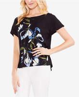 Vince Camuto Floral-Print T-Shirt