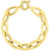 Sphera Milano 14K Yellow Gold Plated Stering Silver Link Bracelet