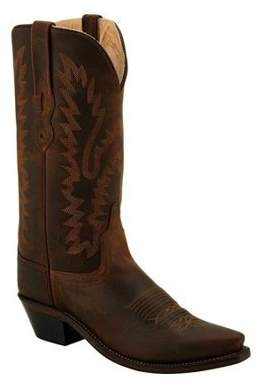 Old West Women's 12 Inch Snip Toe Fashion Wear Cowboy Boots