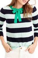 J.Crew Women's Tippie Tie Neck Sweater