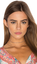 Natalie B Upper West Choker in Metallic Copper.