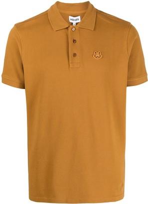 Kenzo Logo-Patch Polo Shirt