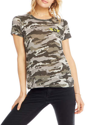 Chaser Military Time Short-Sleeve Camo Tee