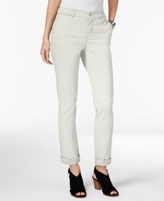 Style&Co. Style & Co Style & Co Petite Chino Boyfriend Pants, Created for Macy's