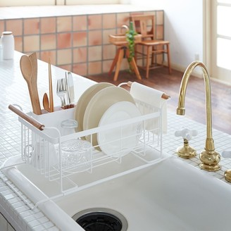 Williams-Sonoma Tosca Over-the-Sink Dish Drainer Rack, White