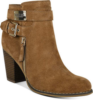 GUESS Gather Dress Booties Women Shoes