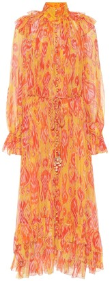 Zimmermann Brightside paisley midi dress
