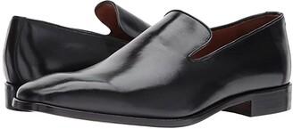 Massimo Matteo Loafer 17 (Black) Men's Slip on Shoes