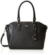 Sansibar Shopper Bag A4, Women's Satchel, Schwarz (), 40x25x14 cm (B x H T)