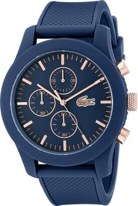 Lacoste Men's 2010827 12.12 Analog Display Chronograph Quartz Blue Watch