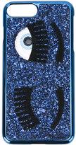 Chiara Ferragni eyes blink iPhone7 case - women - Polyester/Polyurethane/PVC - One Size