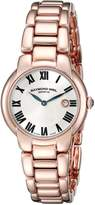 Raymond Weil Women's 5229-P5-01659 Jasmine Analog Display Swiss Quartz Rose Gold Watch