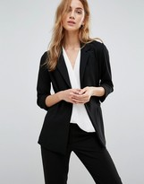 New Look Longline Wrap Front Blazer