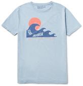 Hartford Printed Slub Cotton-Jersey T-Shirt