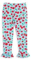 Fendi Toddler's, Little Girl's & Girl's Blue Cherry Print Leggings