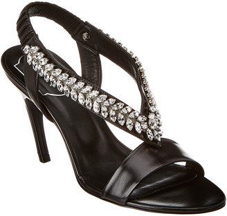 Roger Vivier Jewel Leather Sandal