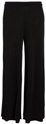 Marina Rinaldi Knit Wide-Leg Trousers