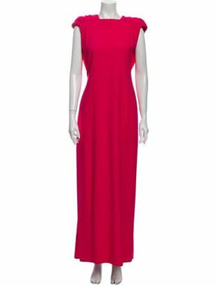 Valentino Vintage Long Dress Pink