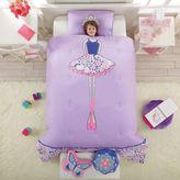 Ballerina Reversible Comforter Set in Lavender