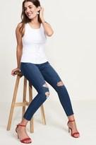 Dynamite Kate Medium Wash Distressed Skinny Jean