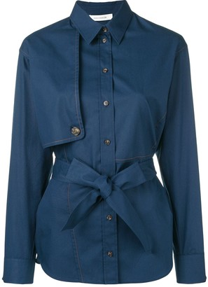 Cédric Charlier Belted Shirt