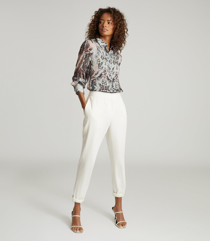 Thumbnail for your product : Reiss Emmy - Paisley Printed Shirt in Grey