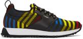Fendi Multicolor Zig Zag Sneakers