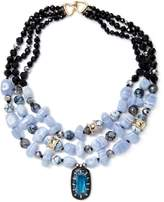 Alexis Bittar Women's Elements Multi Strand Stone Bib Collar Necklace