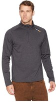 Timberland Understory 1/4 Zip Fleece Top (Navy Heather) Men's Fleece
