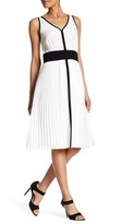 Lands' End Canvas Sleeveless Silk Dress