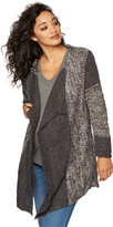 A Pea in the Pod Splendid Bias Cut Maternity Cardigan