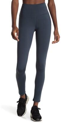 90 Degree By Reflex Soft Tech Fleece Lined High Rise Leggings