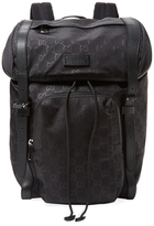 Gucci Rainy Nylon Logo Backpack