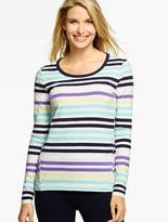 Talbots Everyday Tee - Mixed Stripes