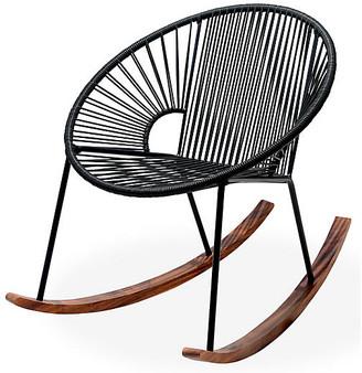 Mexa Ixtapa Rocking Chair - Black